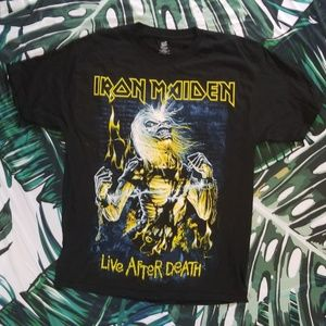 NWOT Iron Maiden band tee Sz. L